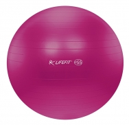 Lifefit anti-burst 55 cm bordová - F-GYM-55-22