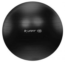 LIFEFIT anti-burst 85 cm čierna - F-GYM-85-21