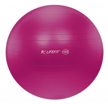 LIFEFIT anti-burst 85 cm bordová - F-GYM-85-22