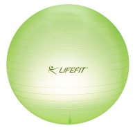 LifeFit Transparent 65 cm, sv. zelený - F-GYM-T65-01