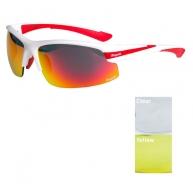 brýle Rogelli SKYHAWK bílo červené - HEL-009.225(48170) bce3875e157